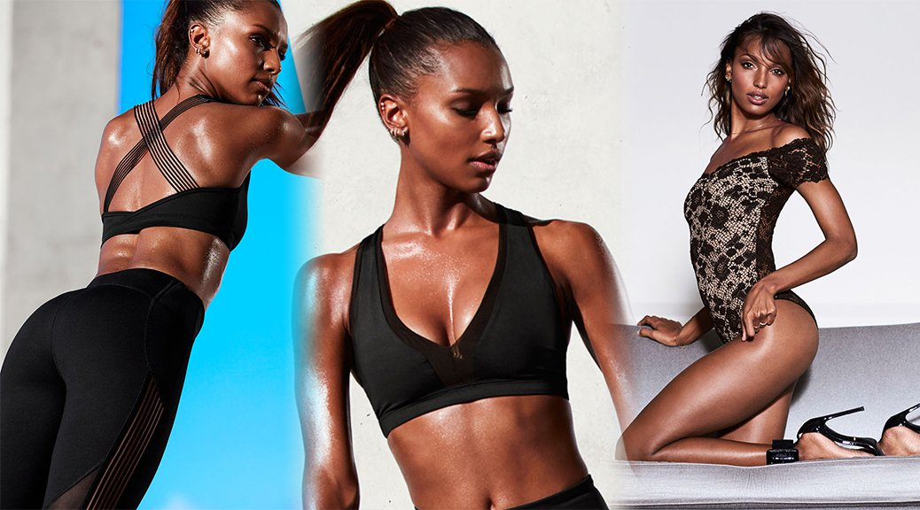 Jasmine Tookes - Victoria's Secret Lingerie Photoshoot