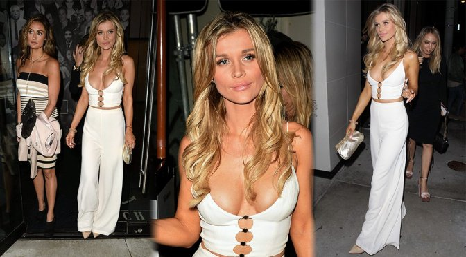 Joanna Krupa – Cleavage Candids in West Hollywood