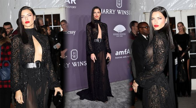 Adriana Lima – amfAR New York Gala