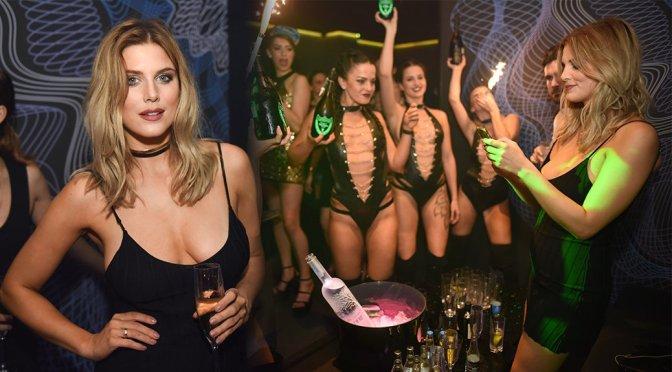 Ashley James at Paper Nightclub In London