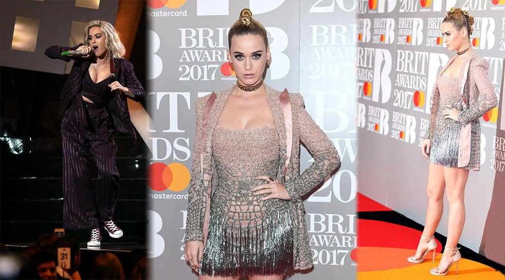 Katy Perry - The BRIT Awards in London
