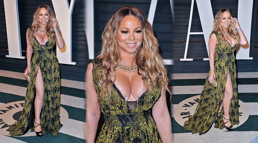 Mariah Carey - 2017 Vanity Fair Oscar Party in Beverly Hills
