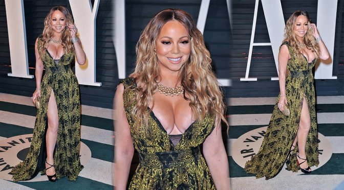 Mariah Carey – 2017 Vanity Fair Oscar Party in Beverly Hills