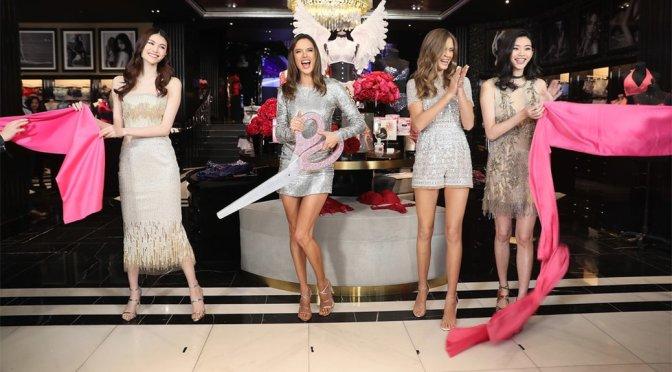 Alessandra Ambrosio & Josephine Skriver – Victoria's Secret Shanghai Store Opening