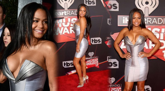 Christina Milian – iHeartRadio Music Awards in Los Angeles