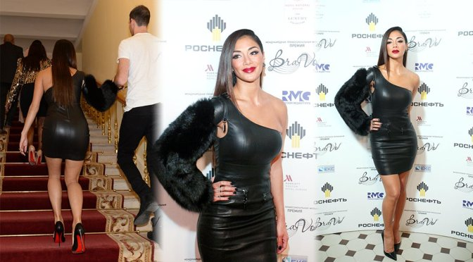 Nicole Scherzinger – BraVo International Music Awards in Moscow