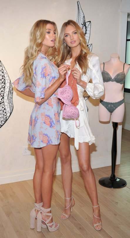 "Romee Strijd & Stella Maxwell - ""Dream Angels"" Collection Launch in New York"