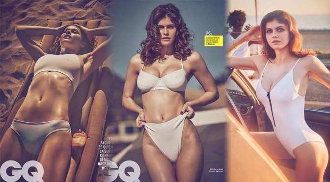 Alexandra Daddario – GQ Mexico Magazine (April 2017)