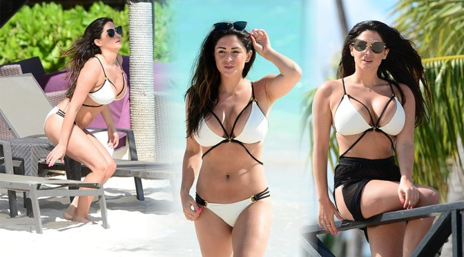 Casey Batchelor – Bikini Candids in Dominican Republic