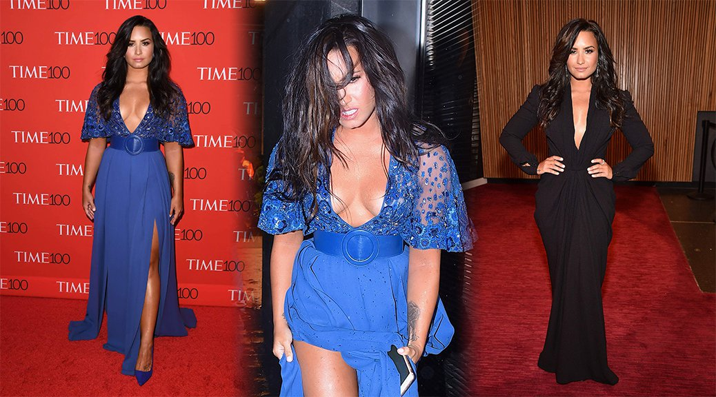 Demi Lovato - 2017 Time 100 Gala in New York