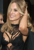 Kimberley Garner sexy at Bradley Theodore ''The Second Coming'' VIP Private View London