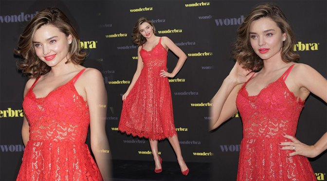 "Miranda Kerr – ""Wonderbra"" Event in Seoul"