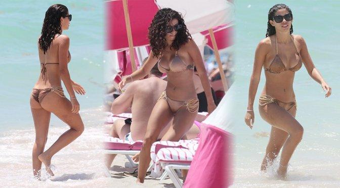 Alexandra Rodriguez – Bikini Candids in Miami