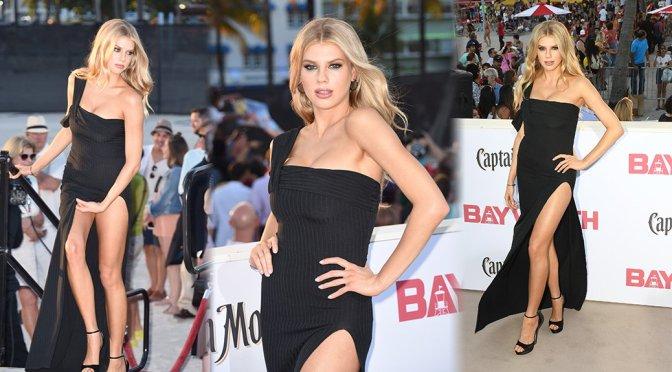 """Charlotte McKinney – """"Baywatch"""" Premiere in Miami"""
