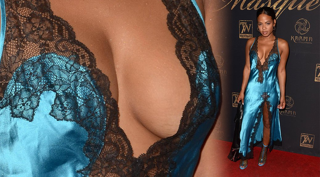 Christina Milian - 9th Annual Karma Masquerade in Los Angeles