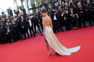 Emily Ratajkowski - sexy legs - Opening Ceremony Of The 70th Cannes Film Festival