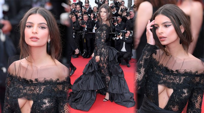 "Emily Ratajkowski – ""Loveless"" Premiere in Cannes"