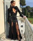 Eva Longoria Sexy Black Dress