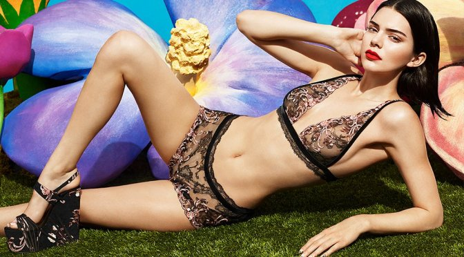 Kendall Jenner - La Perla Fall/Winter 2017 Lingerie Photoshoot