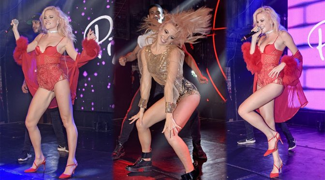 Pixie Lott Performs Live at Heaven Nightclub in London