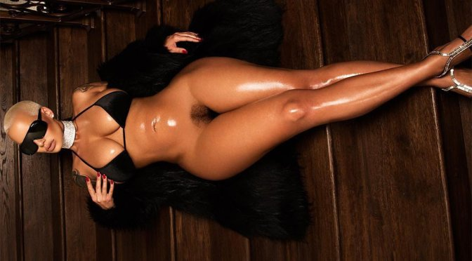 Amber Rose – Naked Photoshoot (NSFW)