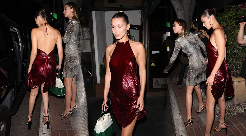 Bella Hadid - Candids in West Hollywood