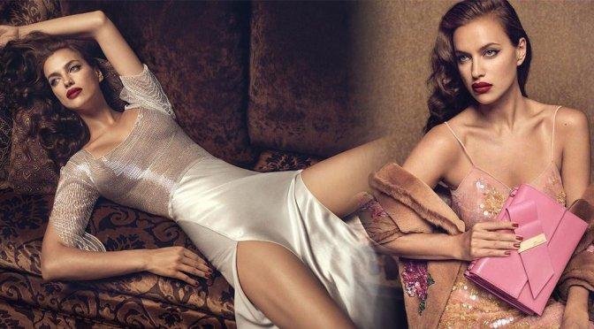 """Irina Shayk – """"Blumarine"""" Fall Winter 2017/18 Photoshoot"""