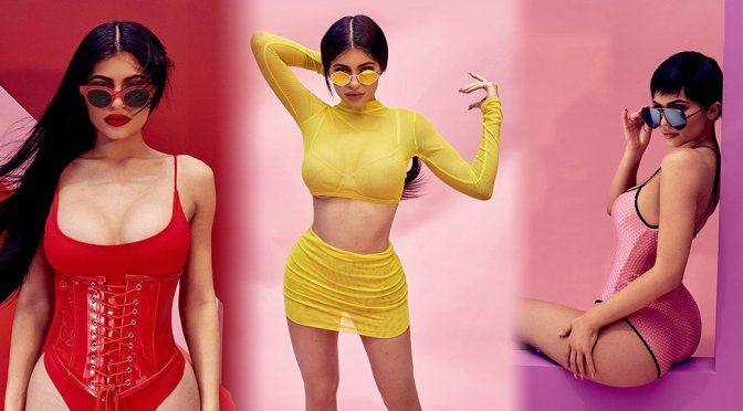 Kylie Jenner – QUAY X Kylie Sunglasses Photoshoot