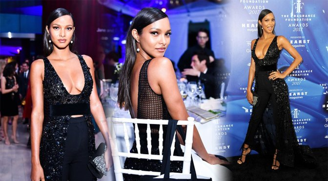 Lais Ribeiro – 2017 Fragrance Foundation Awards