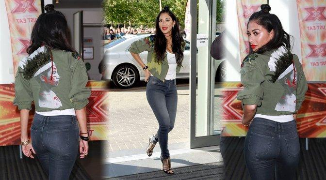 Nicole Scherzinger – X Factor Auditions in Manchester