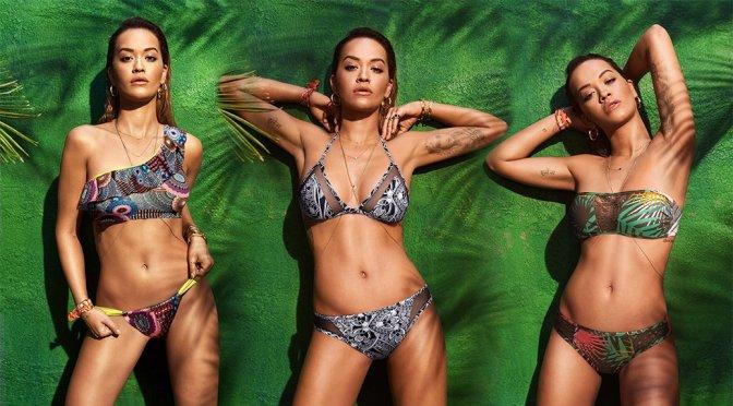 Rita Ora – Tezenis Beachwear 2017 Photoshoot