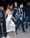 Selena Gomez Sexy Braless Dress