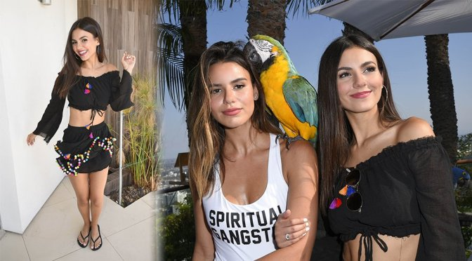 Victoria Justice – Hollywood Hills ESCAPE Event in Los Angeles