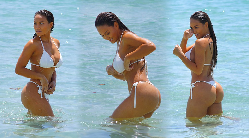 Daphne Joy - Bikini Candids in Miami
