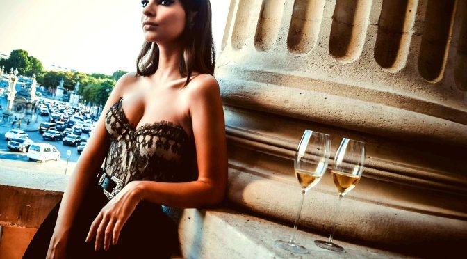 Emily Ratajkowski – Kooples Bag Collaboration Reception in Paris (Nipslip)