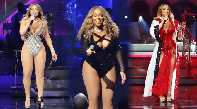 Mariah Carey Performs Live in Las Vegas