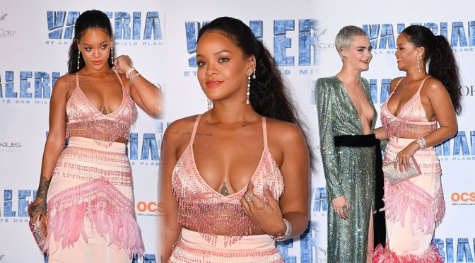 "Rihanna – ""Valerian And The City Of A Thousand Planets"" Premiere in Paris"