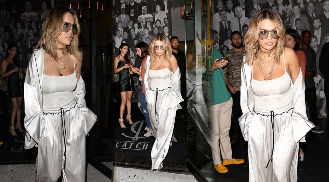 Rita Ora at Catch LA in West Hollywood