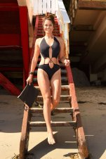 Brooke Burke Swimsuit Photoshoot