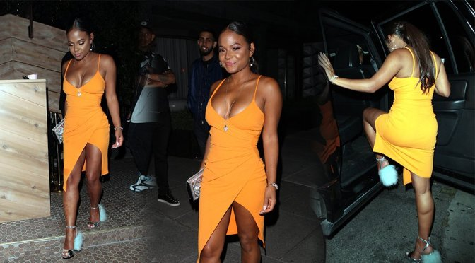 Christina Milian – Candids in Hollywood