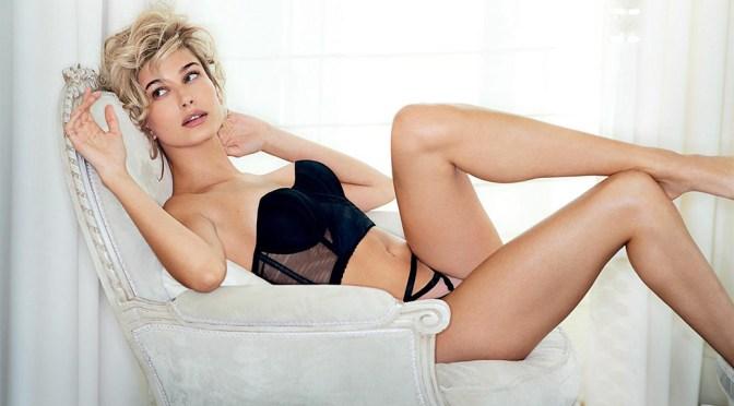 Hailey Baldwin Sexy Lingerie