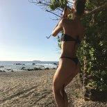 Hannah Ferguson Bikini Thong