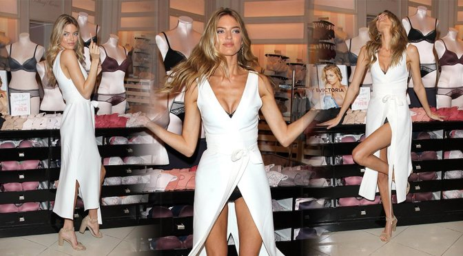 Martha Hunt – Body By Victoria Collection Launch in Los Angeles