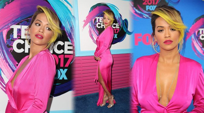 Rita Ora – Teen Choice Awards 2017 in Los Angeles