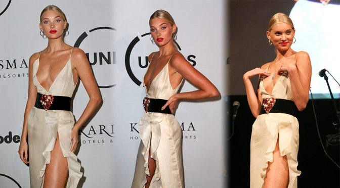 Elsa Hosk – UNITAS Gala Against Human Trafficking Event