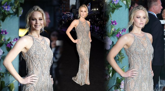 """Jennifer Lawrence – """"Mother!"""" Premiere in London"""