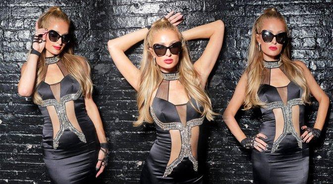 Paris Hilton – Phillipp Plein Fashion Show in New York