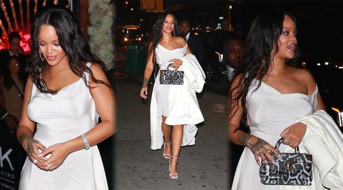 Rihanna – Candids in New York