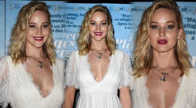 """Jennifer Lawrence – """"Faces Places"""" Premiere in Hollywood"""