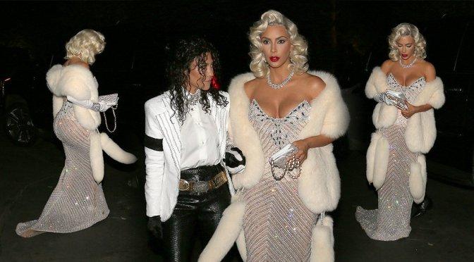 Kim Kardashian – Halloween Party in Bel-Air